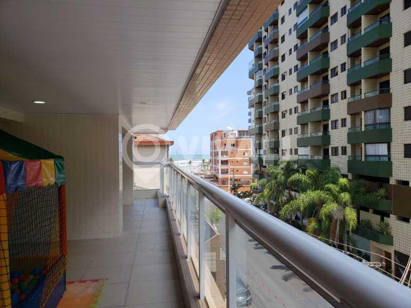 Sacada área de convivência  - Apartamento 3 quartos à venda Praia Grande,SP - R$ 575.000 - VIAP30043 - 27