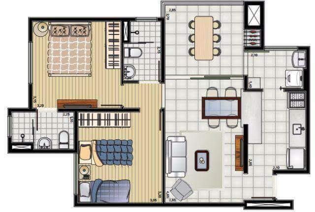 FOTO15 - Apartamento 2 quartos à venda Itatiba,SP - R$ 424.000 - AP0755 - 17
