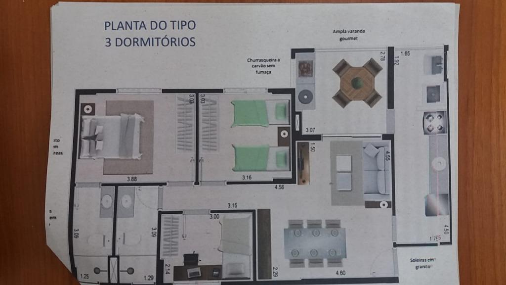 FOTO6 - Apartamento 3 quartos à venda Itanhaém,SP - R$ 400.000 - AP0804 - 8