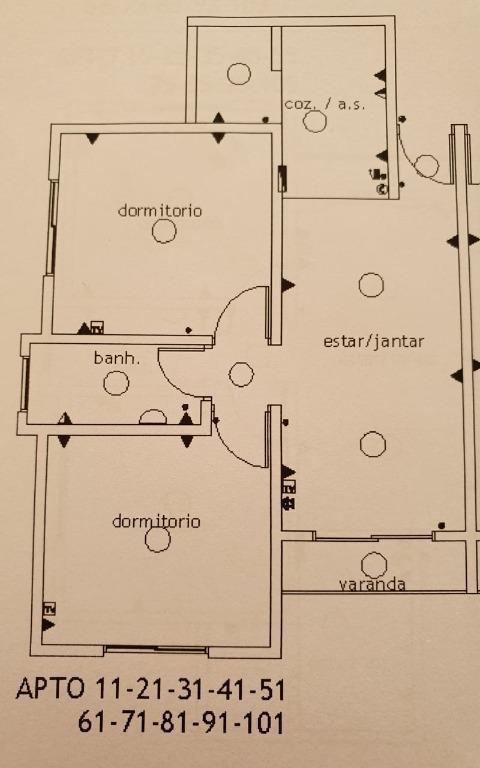 FOTO11 - Apartamento 2 quartos à venda Itatiba,SP - R$ 296.800 - AP0814 - 13