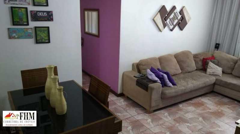 1 - Apartamento à venda Rua Almerinda de Castro,Campo Grande, Rio de Janeiro - R$ 145.000 - FHM2307 - 1