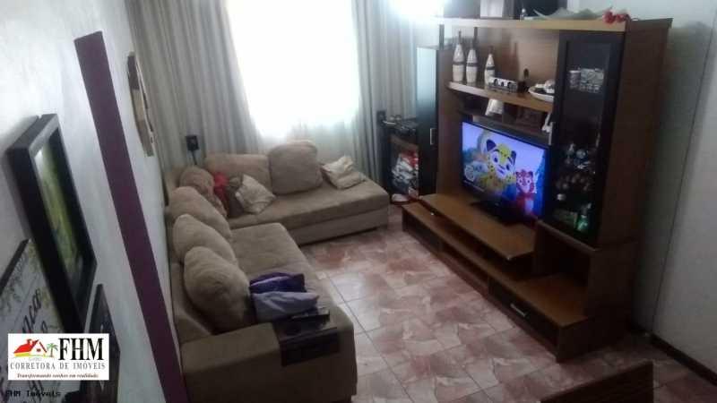 2 - Apartamento à venda Rua Almerinda de Castro,Campo Grande, Rio de Janeiro - R$ 145.000 - FHM2307 - 3