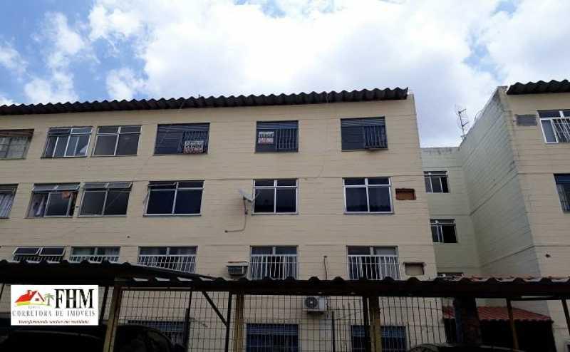 3 - Apartamento à venda Rua Almerinda de Castro,Campo Grande, Rio de Janeiro - R$ 100.000 - FHM2326 - 4