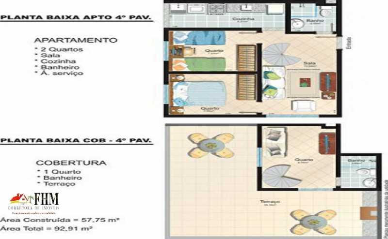 8_IMG-20210511-WA0040_watermar - Cobertura à venda Estrada do Magarça,Campo Grande, Rio de Janeiro - R$ 250.000 - FHM5032 - 21