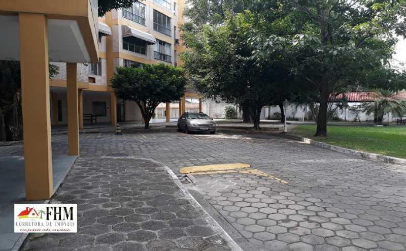 2 - Apartamento para alugar Estrada do Monteiro,Campo Grande, Rio de Janeiro - R$ 990 - FHM9520 - 1