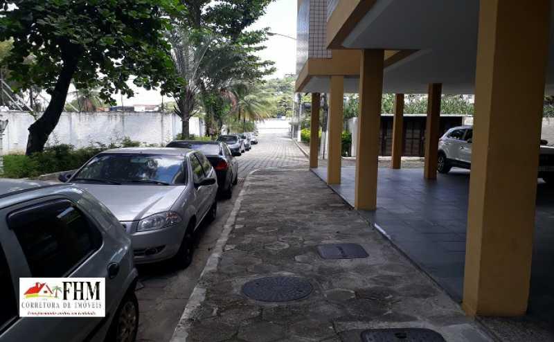 4 - Apartamento para alugar Estrada do Monteiro,Campo Grande, Rio de Janeiro - R$ 990 - FHM9520 - 5