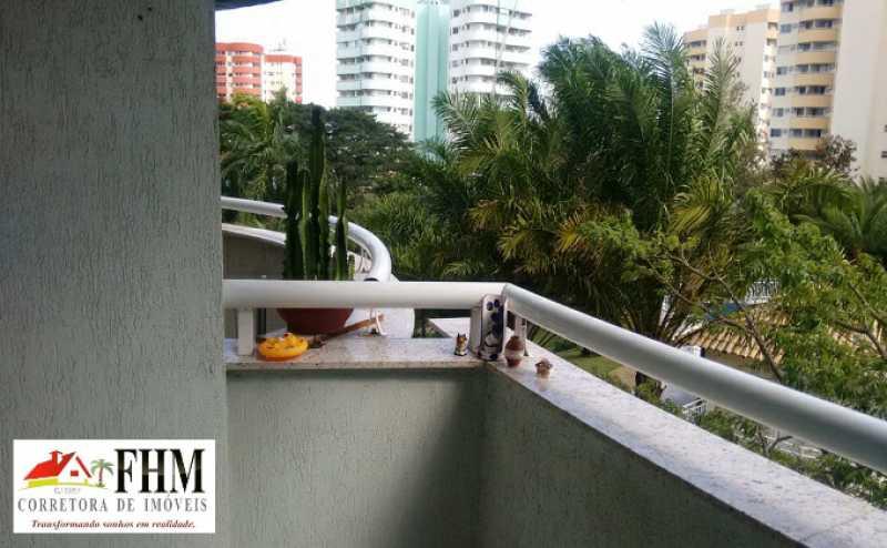 2_IMG-20210622-WA0046_watermar - Apartamento para alugar Avenida Cláudio Besserman Vianna,Barra da Tijuca, Rio de Janeiro - R$ 1.500 - FHM9537 - 3