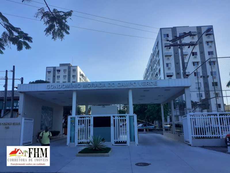 11 - Apartamento para alugar Rua Olinda Ellis,Campo Grande, Rio de Janeiro - R$ 1.200 - FHM9028 - 1