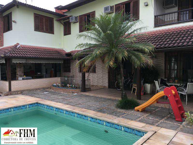 0_20190319101611481_watermark_ - Casa em Condomínio à venda Rua Rio Bonito,Campo Grande, Rio de Janeiro - R$ 1.400.000 - FHM6556 - 1