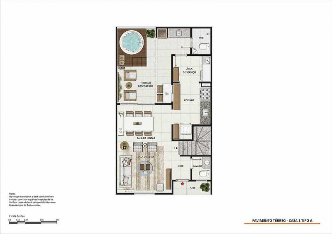 PAV TÉRREO CASA 1 TIPO A - Fachada - Magic Garden Houses - 148 - 22