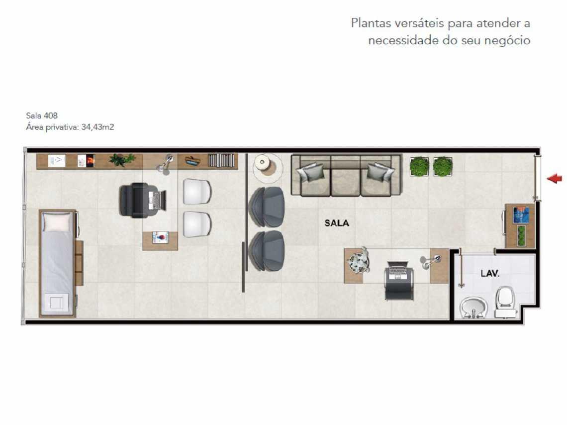 PLANTA - Fachada - Botanic Offices - 183 - 7