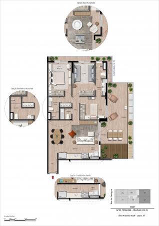 Unidade Garden 3 quartos - Fachada - MEET. - 239 - 21