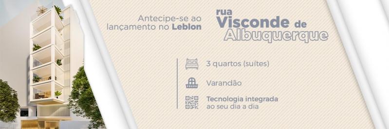 Visconde de Albuquerque - Fachada - Visconde de Albuquerque 1392 - 242 - 1