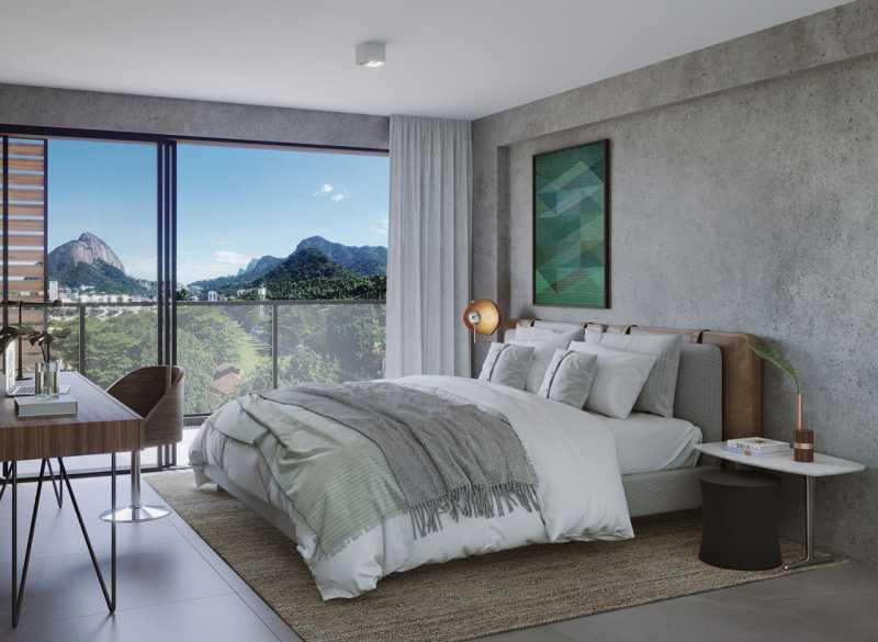 LIVING APARTAMENTO 501 - Fachada - OKA Residence Lagoa - 252 - 3