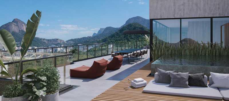 TERRAÇO COBERTURA 601 - Fachada - OKA Residence Lagoa - 252 - 11