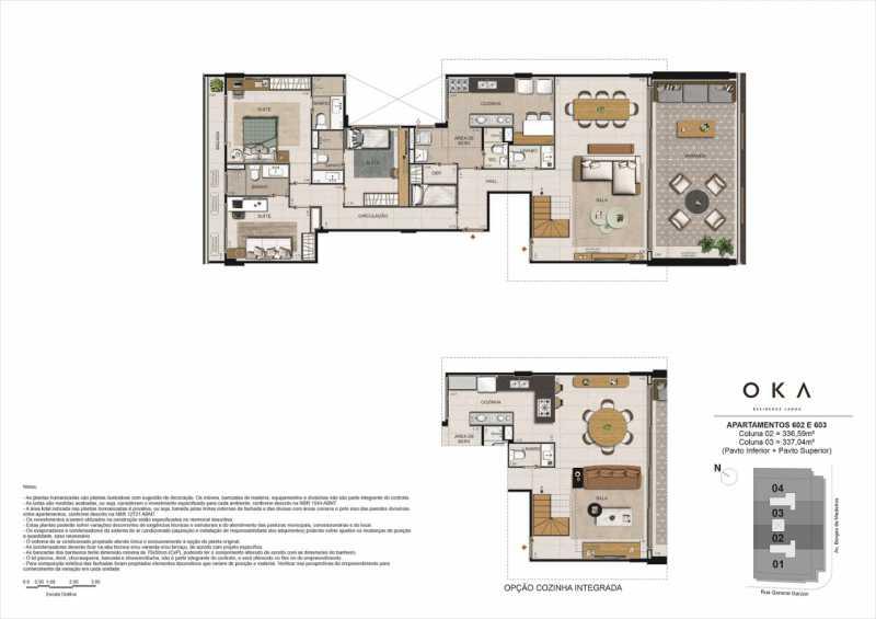 APTOS 602 E 603 - Fachada - OKA Residence Lagoa - 252 - 12