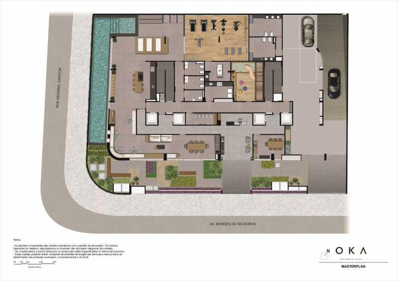 MASTERPLAN - Fachada - OKA Residence Lagoa - 252 - 13