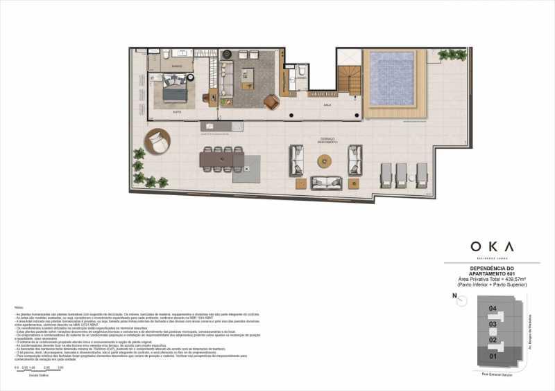 DEPENDÊNCIA - 601 - Fachada - OKA Residence Lagoa - 252 - 16
