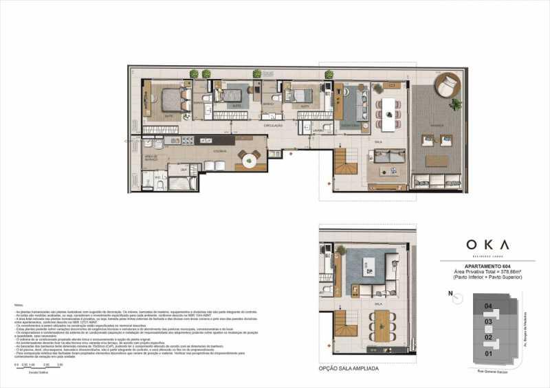 APTO 604 - Fachada - OKA Residence Lagoa - 252 - 17