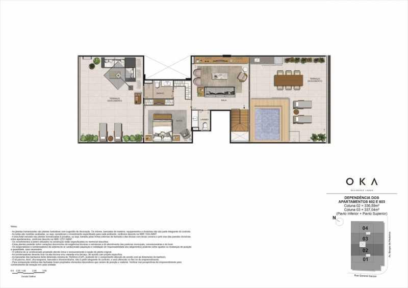 DEPENDÊNCIAS - 602 E 603 - Fachada - OKA Residence Lagoa - 252 - 18