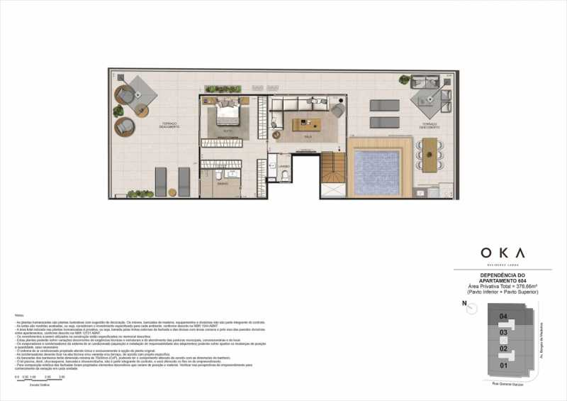 DEPENDÊNCIA - 604 - Fachada - OKA Residence Lagoa - 252 - 19