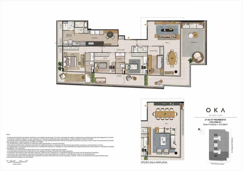 2º AO 5º PAVIMENTO - COLUNA 01 - Fachada - OKA Residence Lagoa - 252 - 23