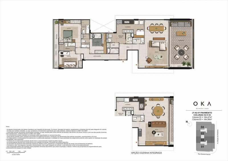 2º AO 5º PAVIMENTO COL.02 E 03 - Fachada - OKA Residence Lagoa - 252 - 24