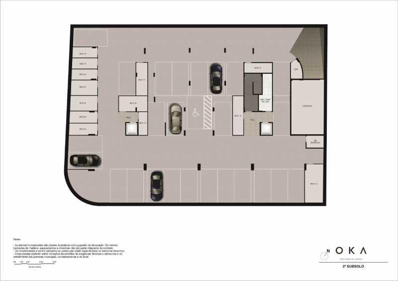 2º SUBSOLO - Fachada - OKA Residence Lagoa - 252 - 26