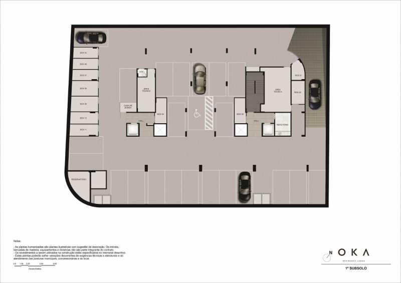 1º SUBSOLO - Fachada - OKA Residence Lagoa - 252 - 27