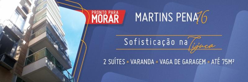 Lançamento Martins Pena 16 - Tijuca - Rio de Janeiro - RJ - 260