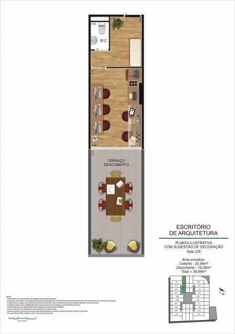 PLANTA SALA 226 - Fachada - Pulse Offices - 55 - 10