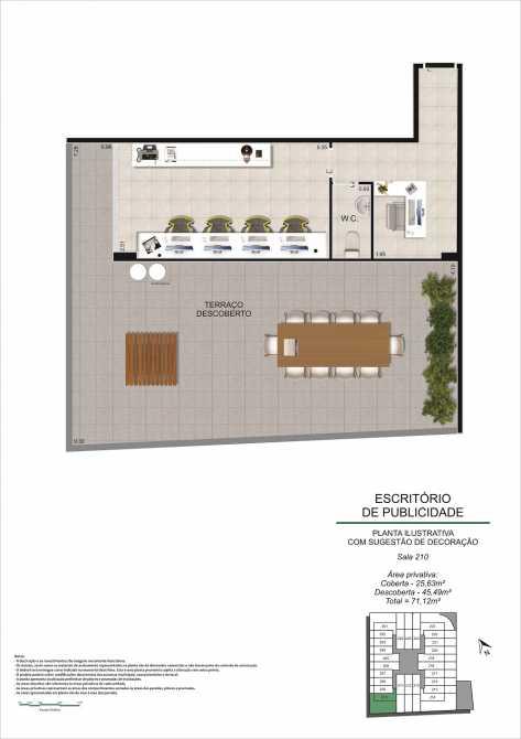 PLANTA SALA 210 - Fachada - Pulse Offices - 55 - 11