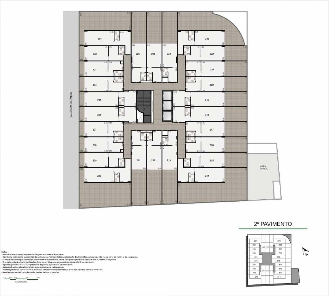 PLANTA PAVIMENTO - Fachada - Pulse Offices - 55 - 12