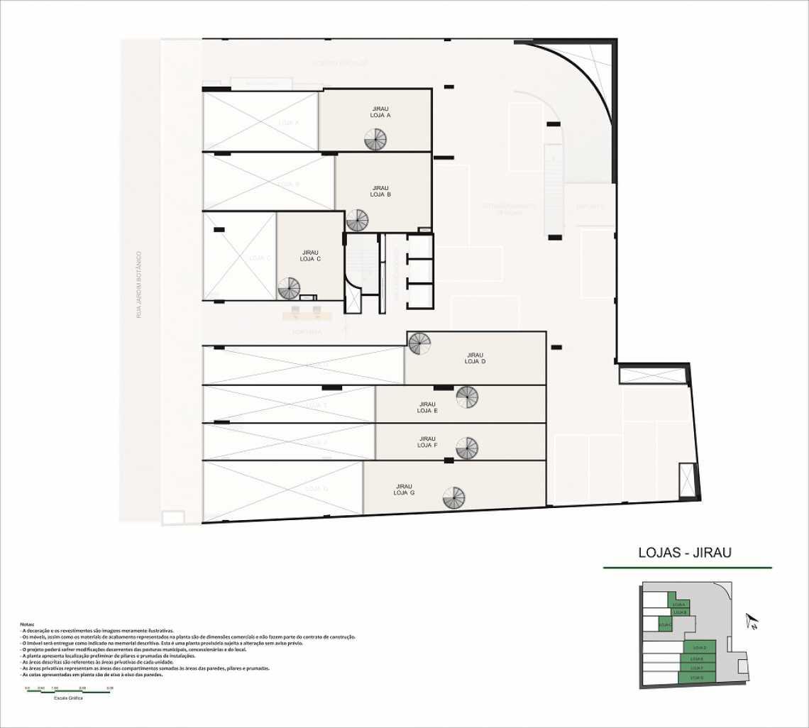 PLANTA LOJAS JIRAU - Fachada - Pulse Offices - 55 - 13