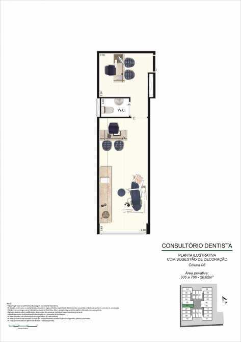 PLANTA CONS DENTISTA - Fachada - Pulse Offices - 55 - 15