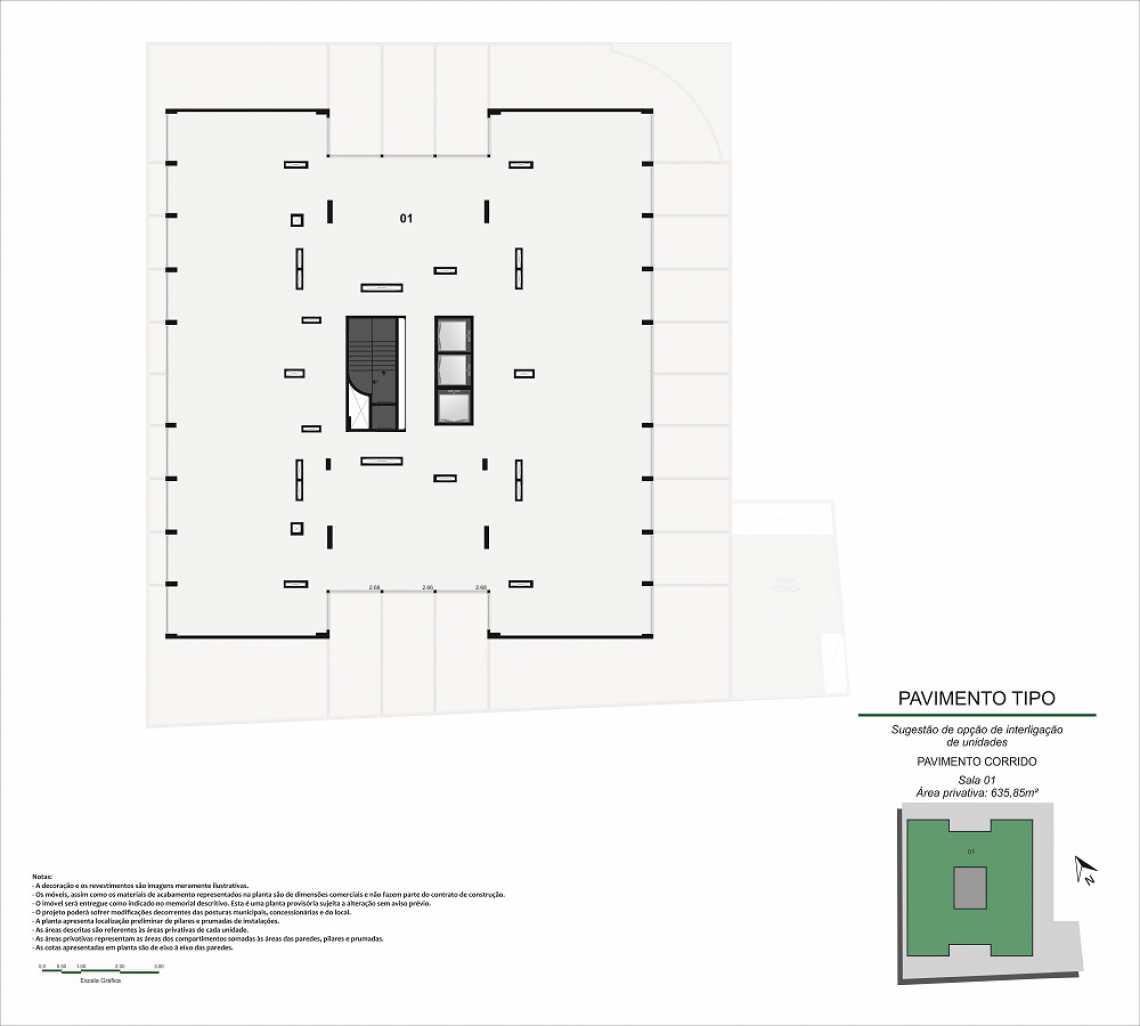 JUNÇÃO PAVIMENTO INTEIRO - Fachada - Pulse Offices - 55 - 17