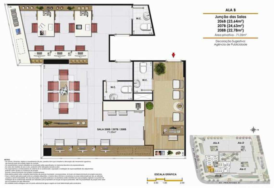 SALA 206 B - Fachada - One Offices - 70 - 21