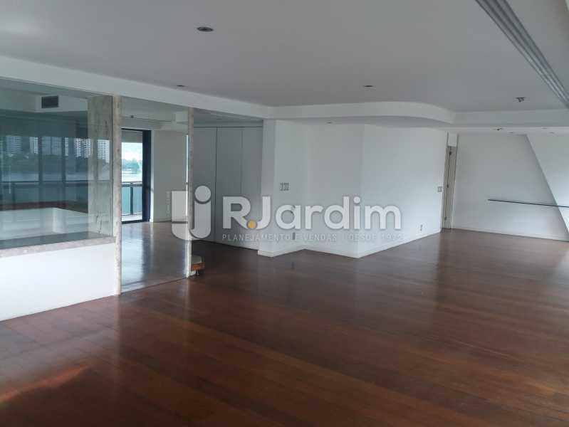 Living - Apartamento à venda Avenida Epitácio Pessoa,Lagoa, Zona Sul,Rio de Janeiro - R$ 5.500.000 - AP1037 - 4