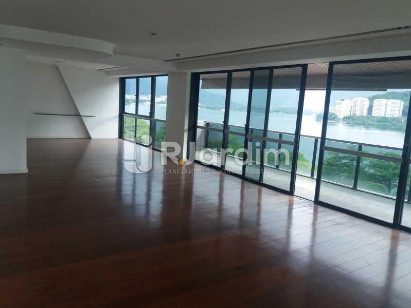 Living - Apartamento à venda Avenida Epitácio Pessoa,Lagoa, Zona Sul,Rio de Janeiro - R$ 5.500.000 - AP1037 - 1