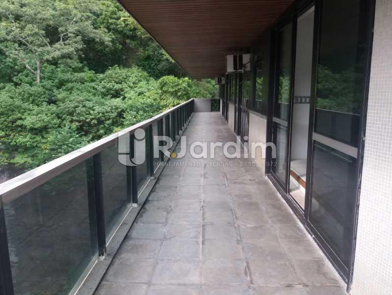 Varanda lateral - Apartamento à venda Avenida Epitácio Pessoa,Lagoa, Zona Sul,Rio de Janeiro - R$ 5.500.000 - AP1037 - 19