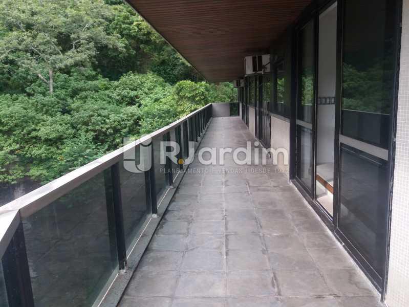 Varanda lateral - Apartamento à venda Avenida Epitácio Pessoa,Lagoa, Zona Sul,Rio de Janeiro - R$ 5.500.000 - AP1037 - 12