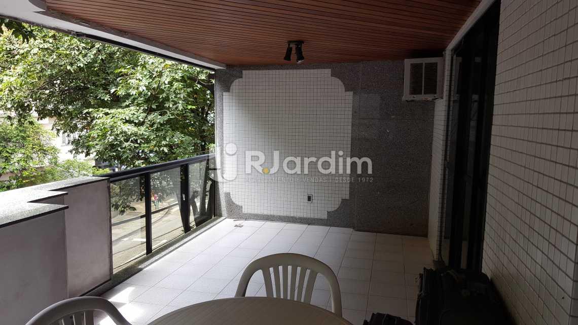 Varandão - Apartamento À VENDA, Leblon, Rio de Janeiro, RJ - LAAP31464 - 3