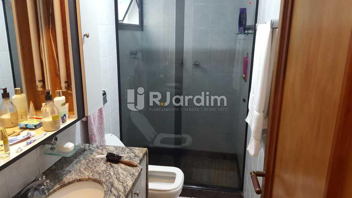 Banheiro social - Apartamento À VENDA, Leblon, Rio de Janeiro, RJ - LAAP31464 - 18