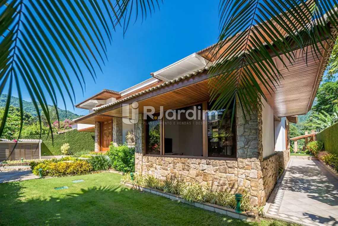 Churrasqueira - Casa em Condominio À Venda - Itanhangá - Rio de Janeiro - RJ - LACN40020 - 4