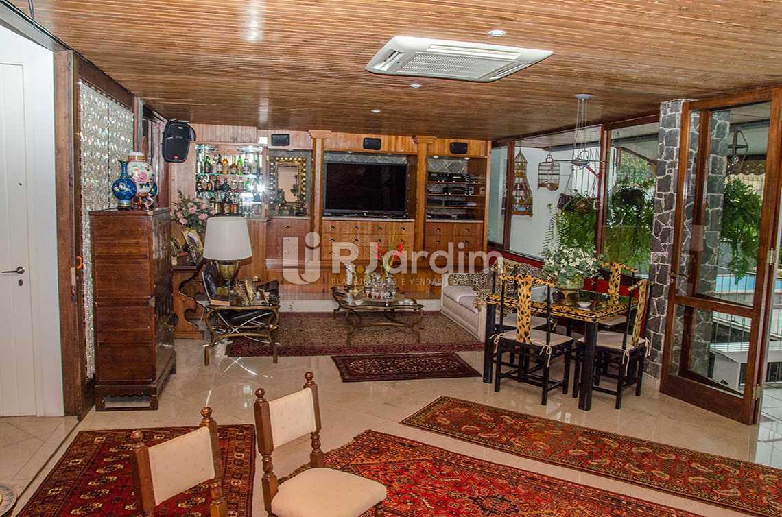 living - Compra Venda Casa Jardim Botânico 4 Quartos - CA0184 - 3