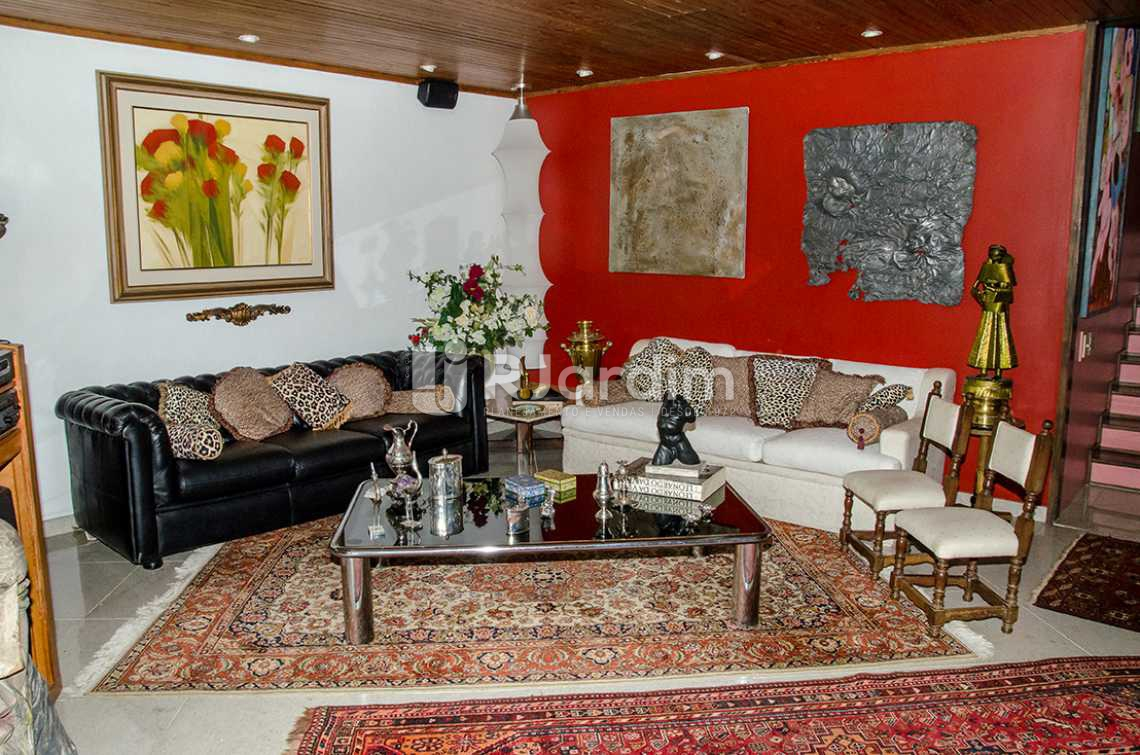 living - Compra Venda Casa Jardim Botânico 4 Quartos - CA0184 - 5