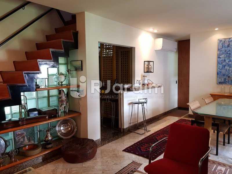 Sala (1º andar) - Cobertura À Venda - Leblon - Rio de Janeiro - RJ - LACO20083 - 3