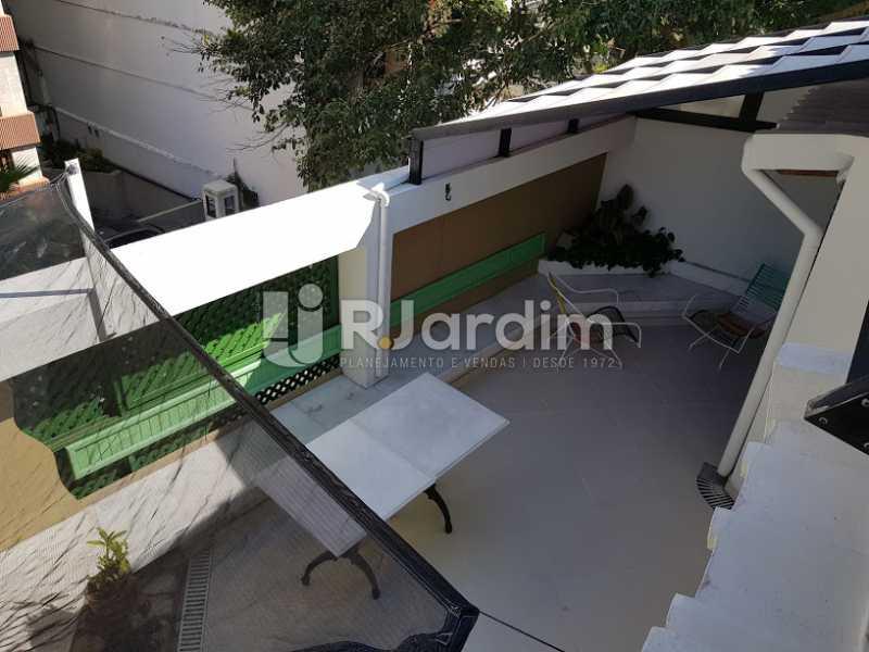 Área externa (2º andar) - Cobertura À Venda - Leblon - Rio de Janeiro - RJ - LACO20083 - 15