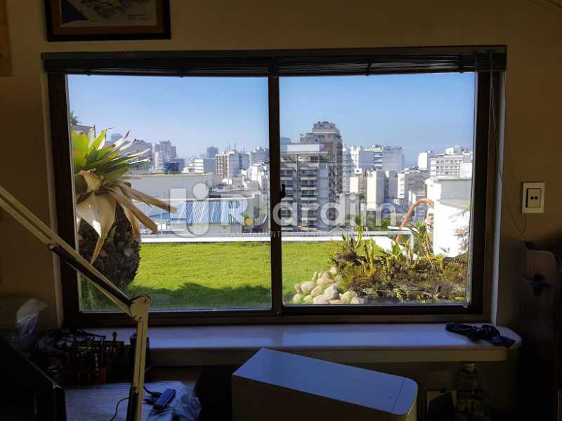 Vista escritório - Cobertura À Venda - Leblon - Rio de Janeiro - RJ - LACO20083 - 20