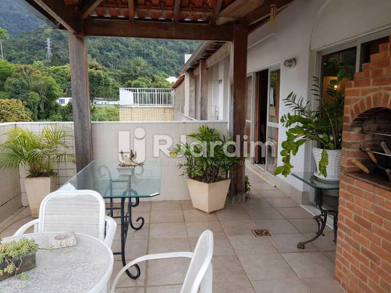 Área externa - Cobertura à venda Rua Lópes Quintas,Jardim Botânico, Zona Sul,Rio de Janeiro - R$ 2.400.000 - CO0079 - 21